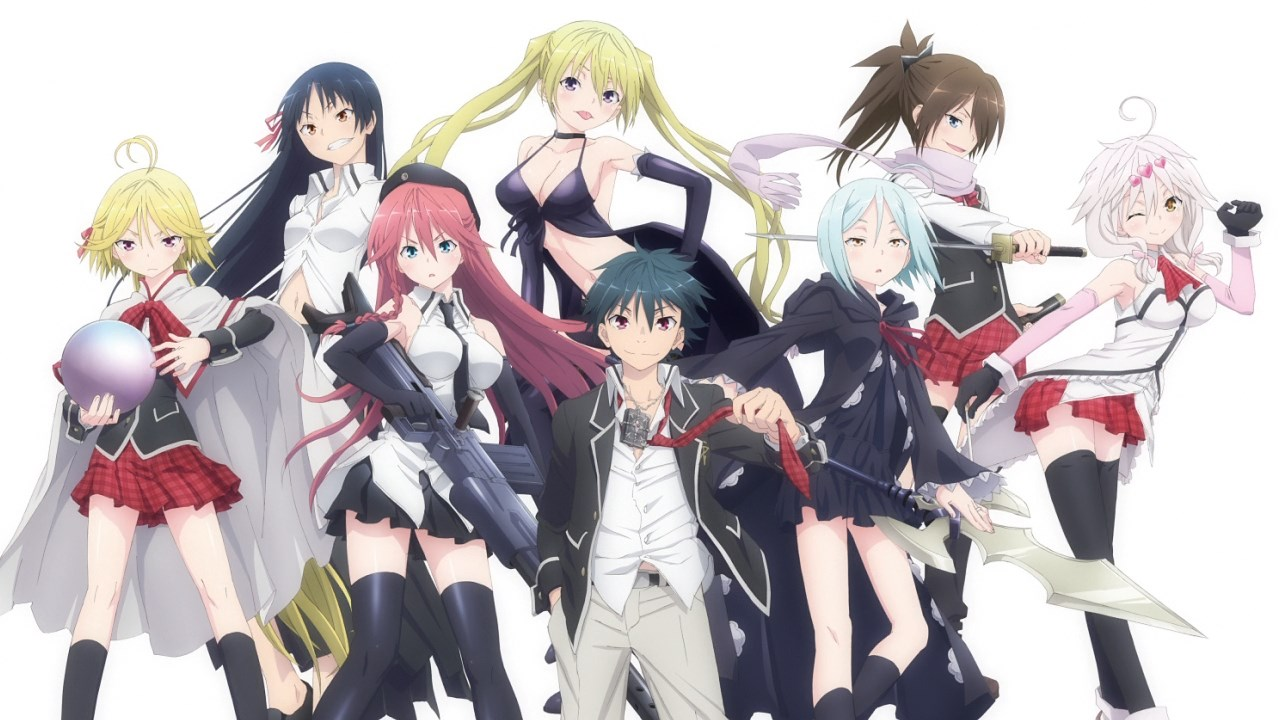 Anime Review: Trinity Seven