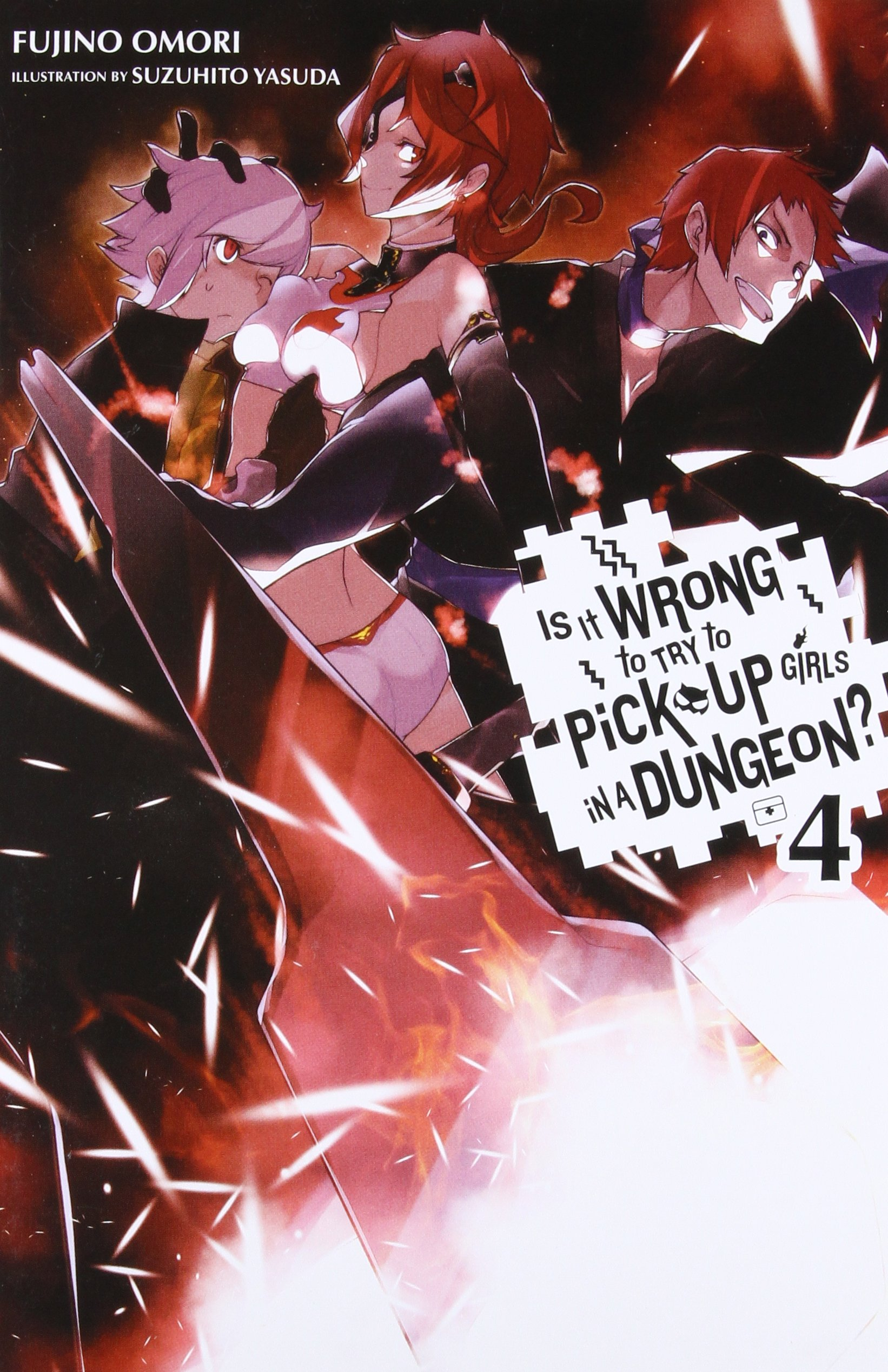 Official Translation Review: DanMachi Volume 4